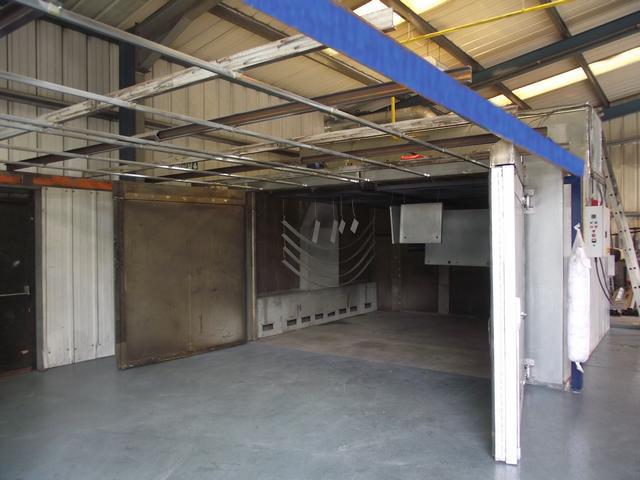 UK Powder Coaters (East Midlands) Limited large capacity oven